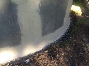 Reinforced Concrete Tanks Leaking Water, repaired leaking-concrete-water-tank