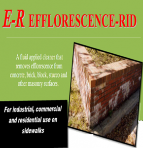 Efforescence_rid -removes Efforescence_from concrete-brick-masonry, Removal Efflorescence and salts from Masonry
